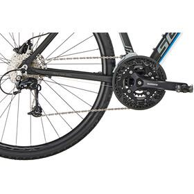 Serious Sonoran Hybridcykel blå/sort